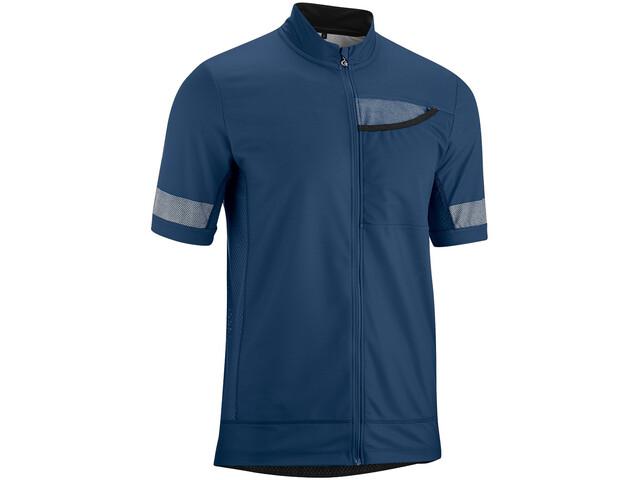 Gonso Lagetto Koszulka rowerowa z zamkiem błyskawicznym Mężczyźni, insignia blue